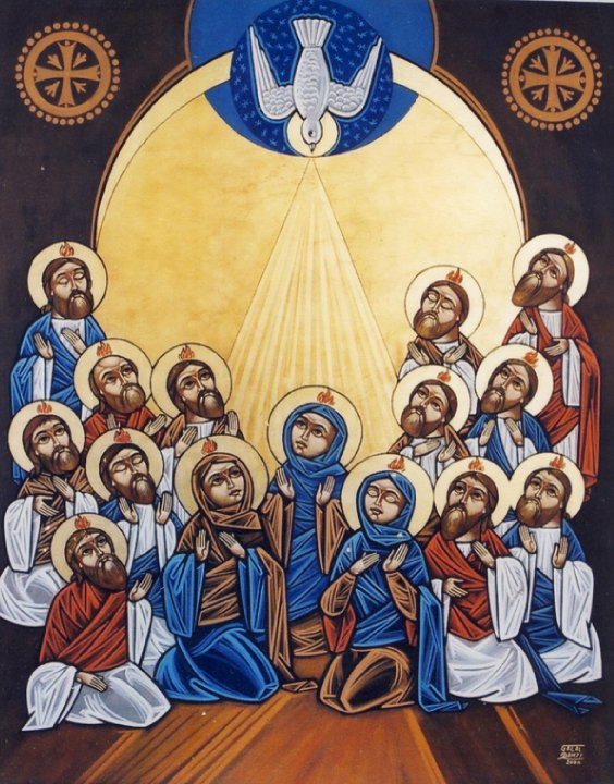 Between Ascension and Pentecost