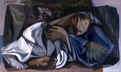 Elijah Flees to Horeb