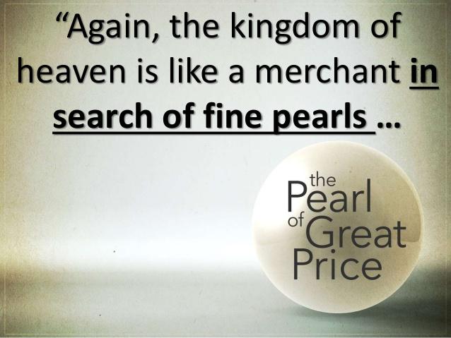 Again, the Kingdom of God is like…