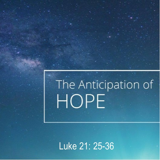 The Anticipation of Hope
